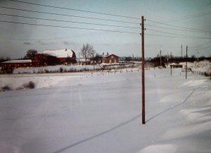 Posten 61 während der Schneekatastrophe 1978 / 1979