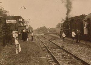 die letzte Dampflokomotive 1972