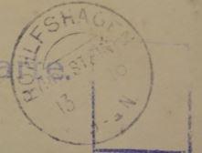 Poststempel Rohlfshagen 1913