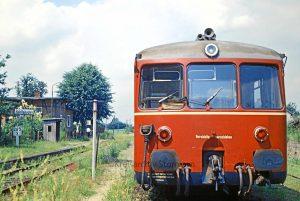 Akkubetriebener Triebwagen ET150 - ca. 1969 - Foto Kreisarchiv Stormarn Schwerdtfeger
